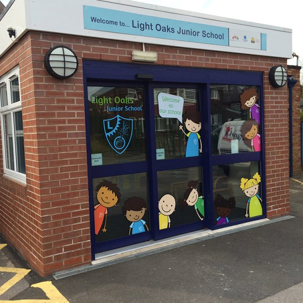 Custom Designed Graphics for Light Oaks Junior School