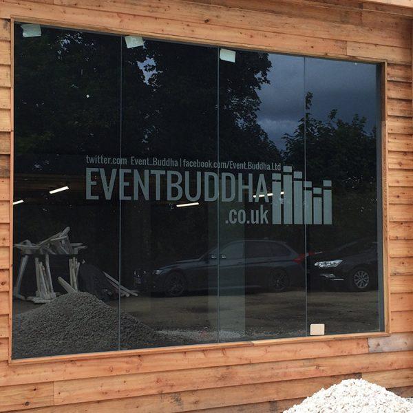 Vehicle Graphics & Signage for Event Buddha